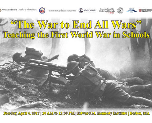 Teaching The First World War In Schools Is Topic For Pioneer History Forum