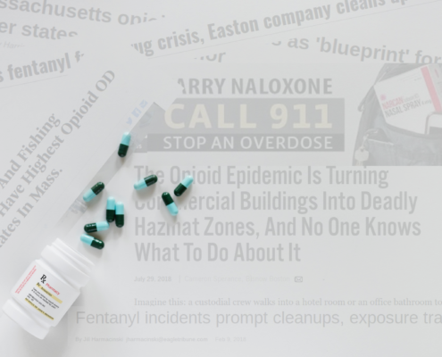 The Opioid Crisis' Wealth Window: There's a Network of Overdoses on the East Coast